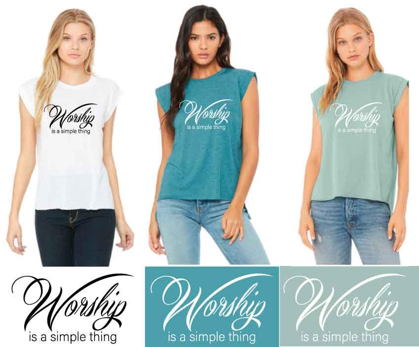 Worship Is A Simple Thing™️ Women's T-Shirts